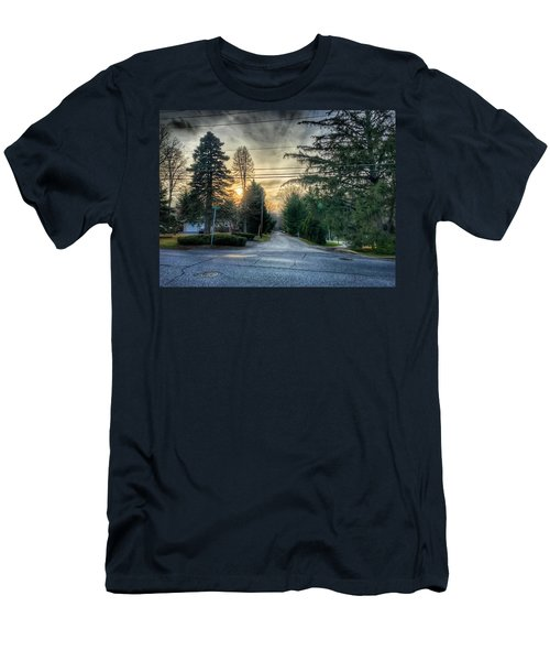 Sunset On Hilltop Drive Men's T-Shirt (Athletic Fit)