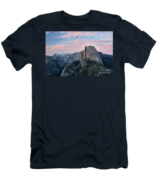 Sunset Over Half Dome Men's T-Shirt (Athletic Fit)