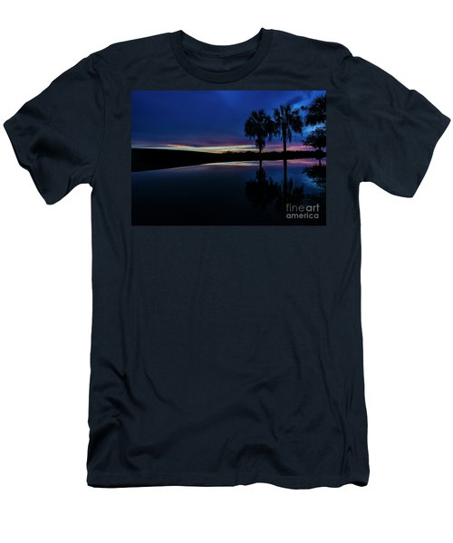 Men's T-Shirt (Slim Fit) featuring the photograph Sunset Palms by Brian Jones