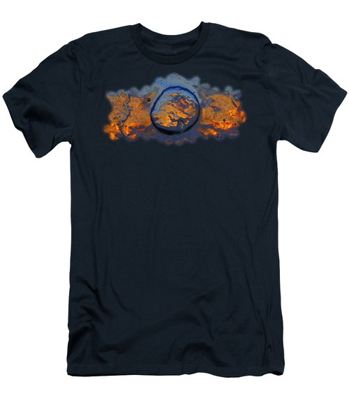 Sunset Rings Men's T-Shirt (Slim Fit) by Sami Tiainen