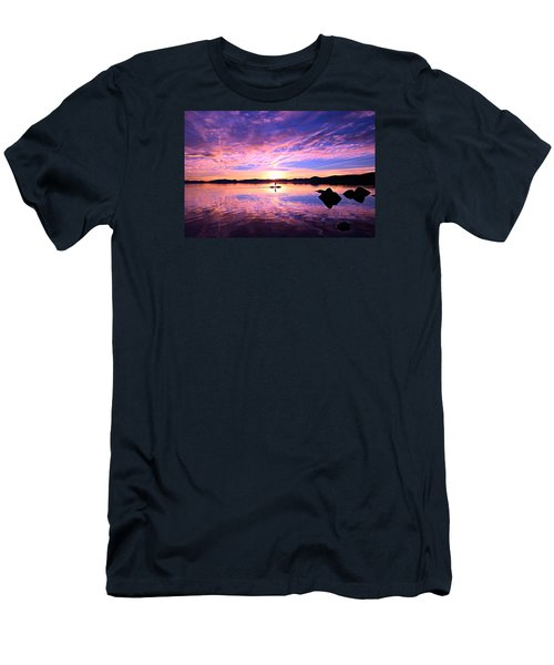 Sunset Supper Men's T-Shirt (Slim Fit) by Sean Sarsfield