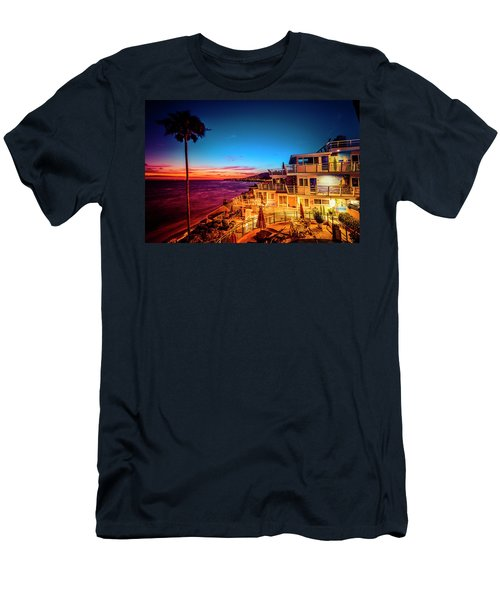 Sunset Twilight At The Laguna Riviera Men's T-Shirt (Athletic Fit)