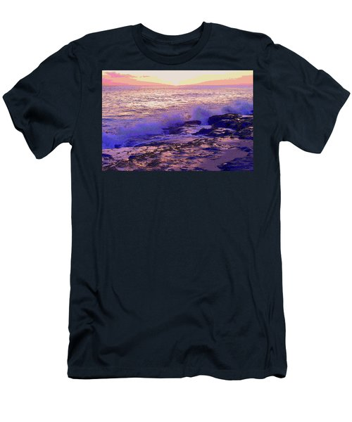 Sunset, West Oahu Men's T-Shirt (Athletic Fit)