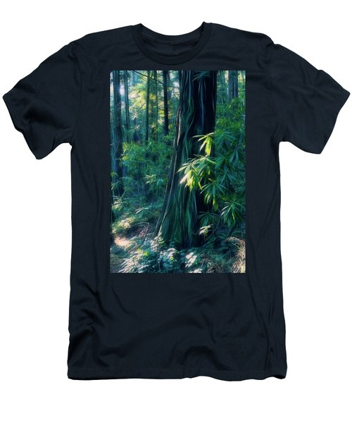Sunshine In The Forest Men's T-Shirt (Athletic Fit)