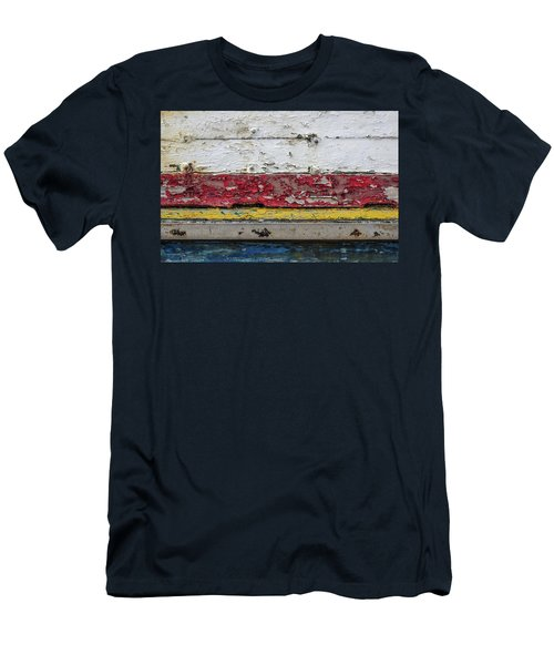 Surface With Peeling Paint Men's T-Shirt (Athletic Fit)