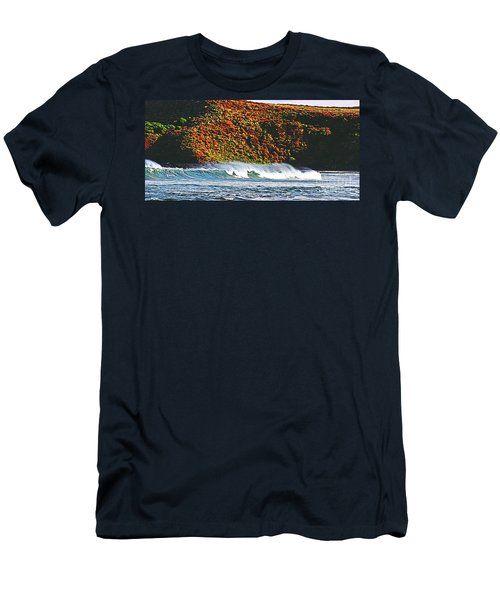 Surfing The Island Men's T-Shirt (Athletic Fit)