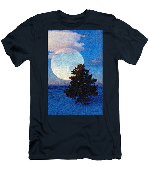 Surreal Winter Men's T-Shirt (Slim Fit) by Ruanna Sion Shadd a'Dann'l Yoder