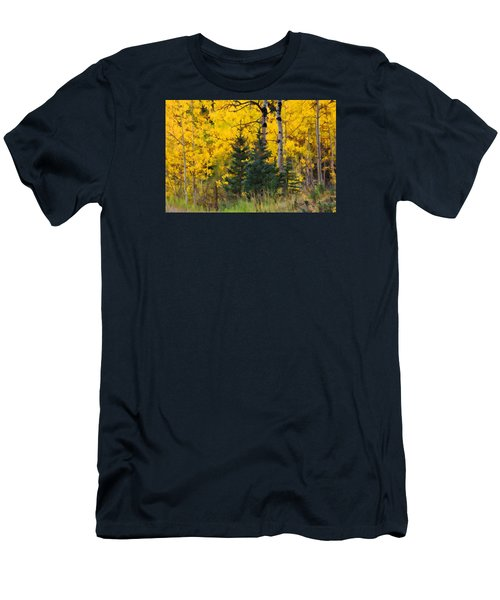 Surrounded By Gold Men's T-Shirt (Athletic Fit)