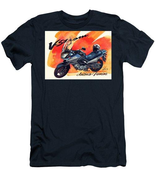 Suzuki Strom 650 Men's T-Shirt (Athletic Fit)