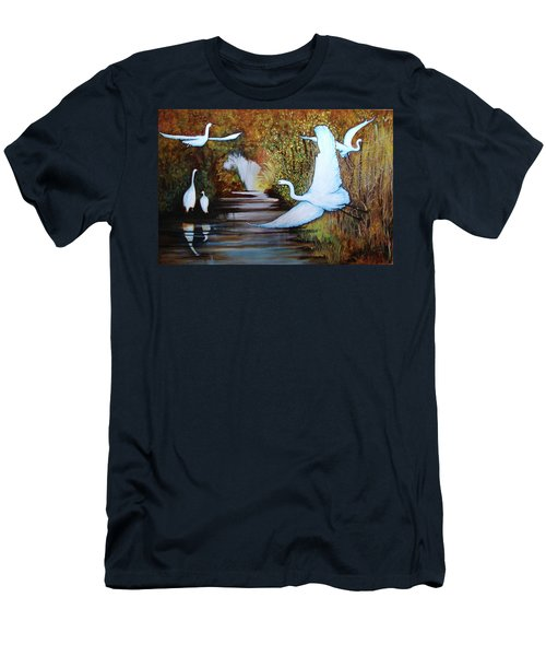 Swamp 1 Men's T-Shirt (Athletic Fit)