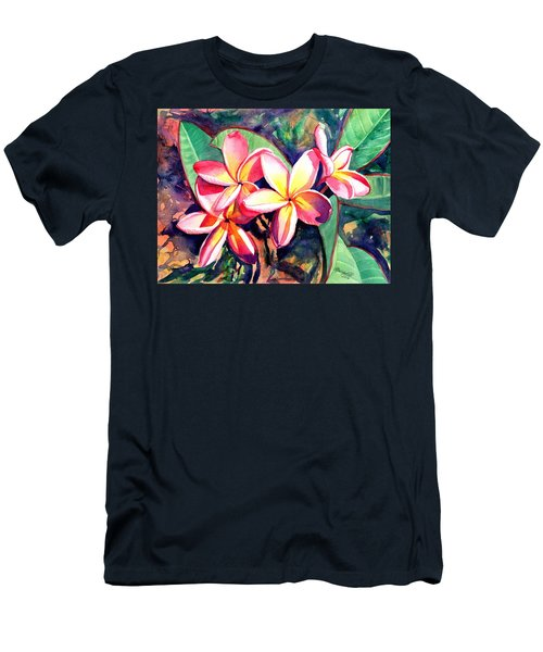 Sweet Plumeria Men's T-Shirt (Athletic Fit)