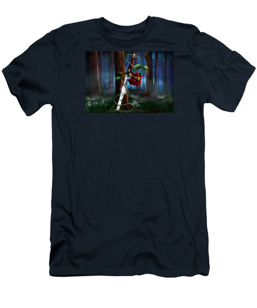 Sword And Rose Men's T-Shirt (Athletic Fit)