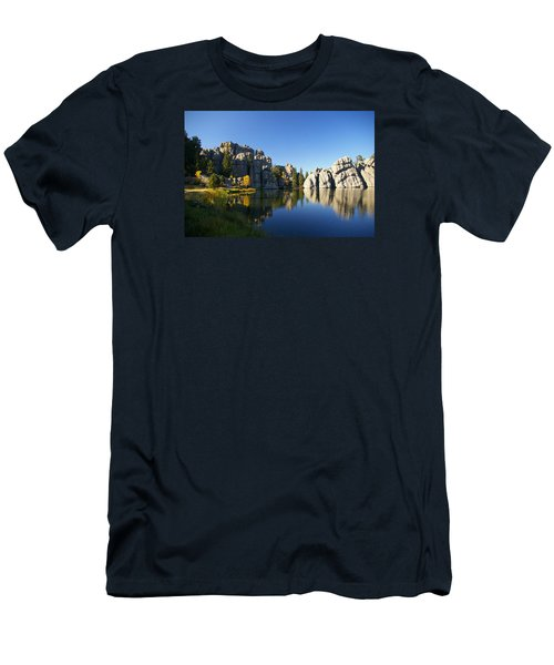 Sylvan Lake, Custer South Dakota Men's T-Shirt (Athletic Fit)