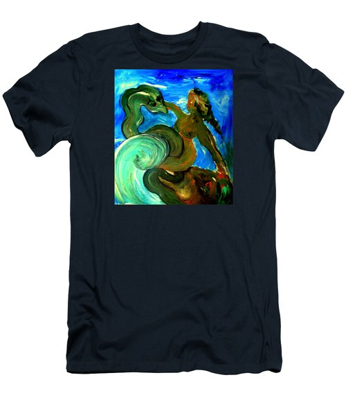 Taming Your Dragon Men's T-Shirt (Athletic Fit)