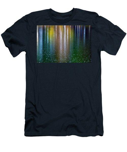 Men's T-Shirt (Slim Fit) featuring the photograph Tears On A Rainbow by John Haldane
