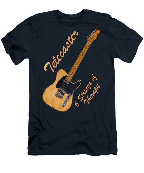 Telecaster Therapy T-shirt Men's T-Shirt (Athletic Fit)
