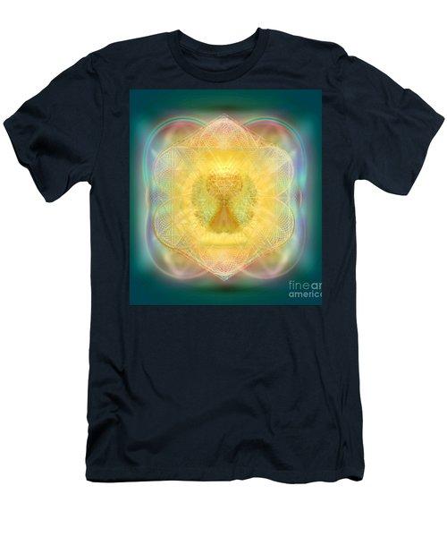 Temple Fire Chalice Men's T-Shirt (Athletic Fit)