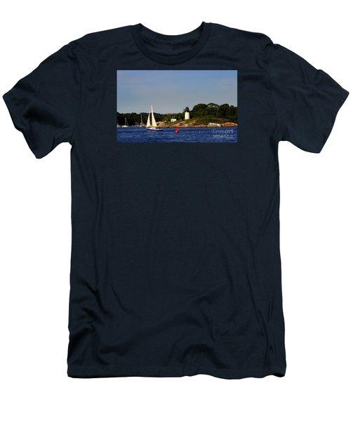 Ten Pound Light Men's T-Shirt (Athletic Fit)