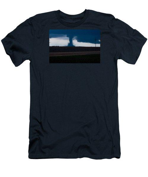 Terror On The Horizon In Western Kansas Men's T-Shirt (Athletic Fit)