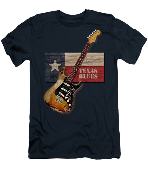 Texas Blues Shirt Men's T-Shirt (Athletic Fit)