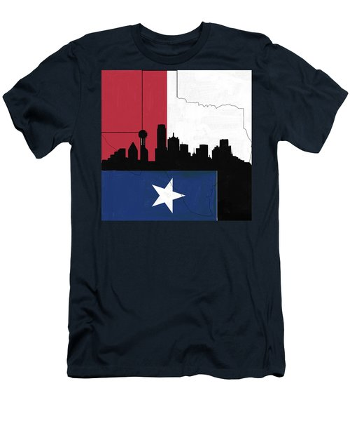 Texas Skyline 542 1 Men's T-Shirt (Athletic Fit)