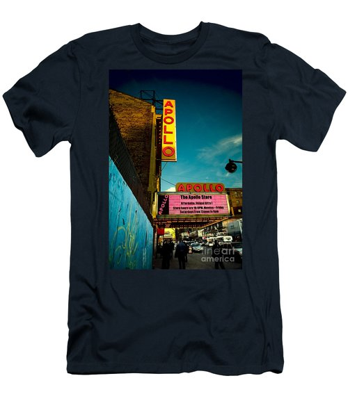 The Apollo Theater Men's T-Shirt (Slim Fit) by Ben Lieberman