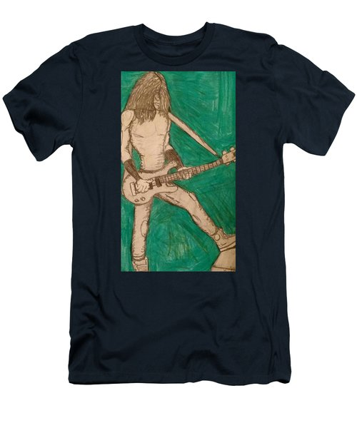 The Bassist  Men's T-Shirt (Athletic Fit)