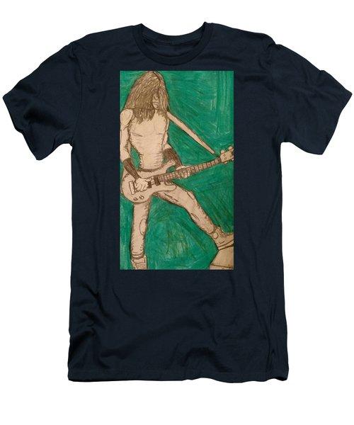 The Bassist  Men's T-Shirt (Athletic Fit)