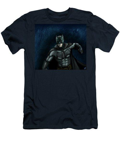 The Batman Men's T-Shirt (Slim Fit) by Vinny John Usuriello