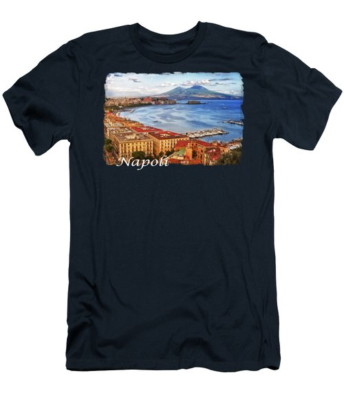 The Bay Of Naples Men's T-Shirt (Athletic Fit)