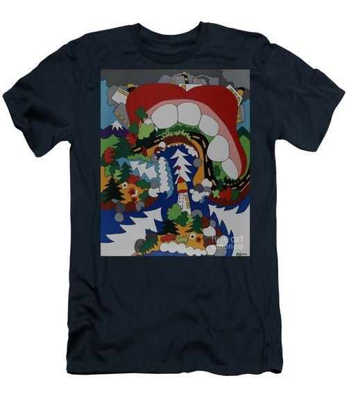 The Big Bite Men's T-Shirt (Athletic Fit)