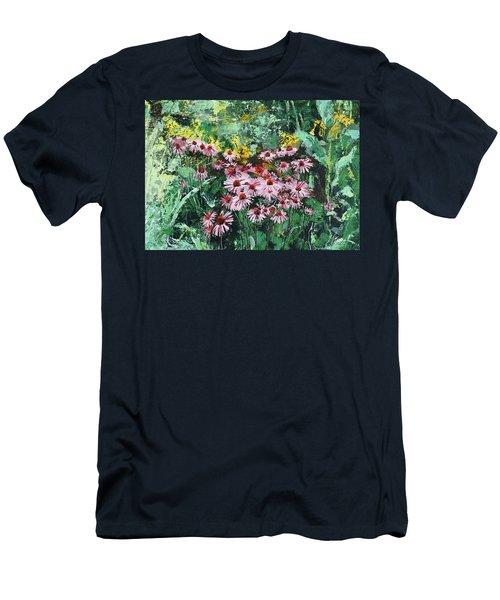 Coneflowers  Garden Men's T-Shirt (Athletic Fit)