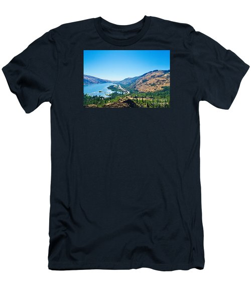 The Columbia River Gorge Men's T-Shirt (Athletic Fit)
