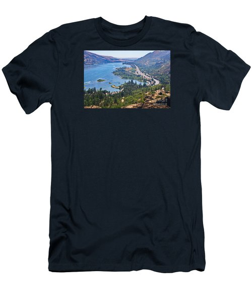 The Columbia River In The Gorge Men's T-Shirt (Athletic Fit)