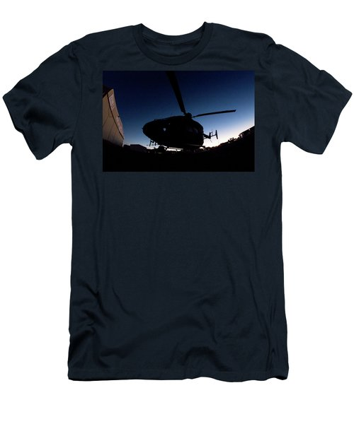 Men's T-Shirt (Slim Fit) featuring the photograph The Dot by Paul Job
