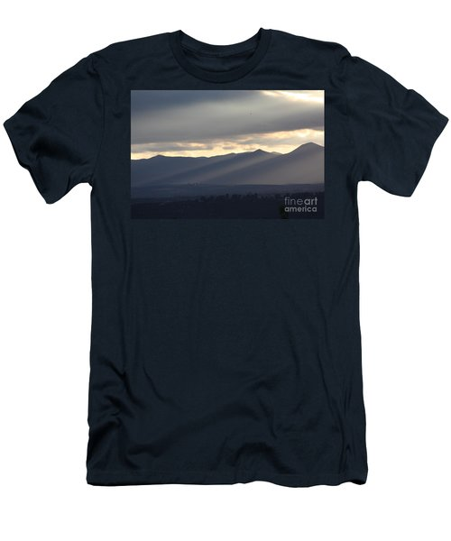 Men's T-Shirt (Slim Fit) featuring the photograph The Dying Of The Day by Brian Boyle