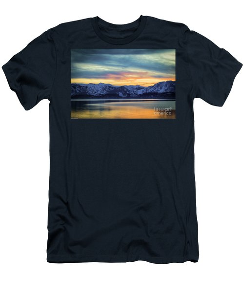 The Evening Colors Men's T-Shirt (Slim Fit) by Mitch Shindelbower