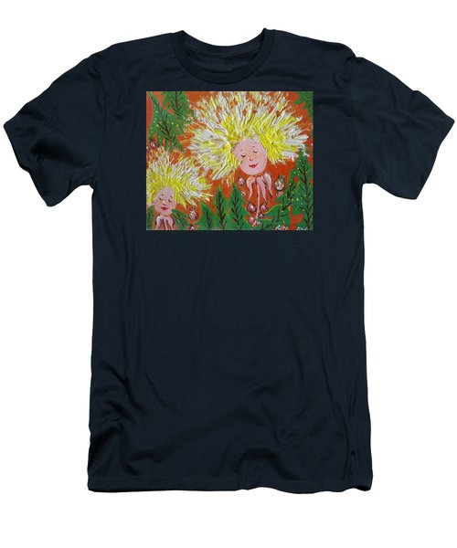 Family 2 Men's T-Shirt (Slim Fit) by Rita Fetisov