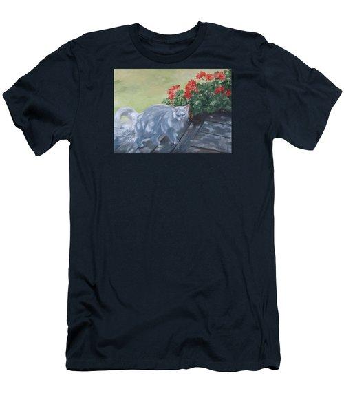 A Feral Cloud Men's T-Shirt (Slim Fit) by Connie Schaertl