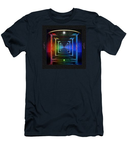 Men's T-Shirt (Slim Fit) featuring the digital art The Fundamental Roots Of The Cosmos by Mario Carini