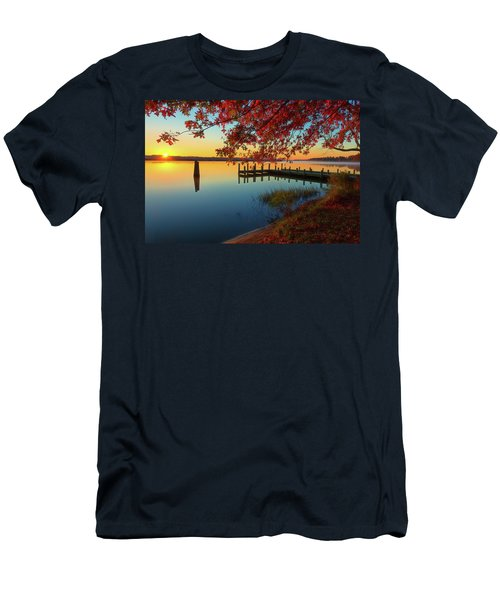 The Glassy Patuxent Men's T-Shirt (Athletic Fit)