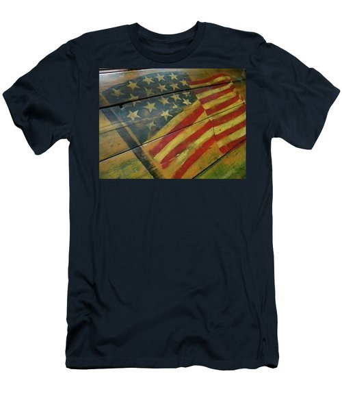 The Great American West Cafe  Men's T-Shirt (Slim Fit) by Sian Lindemann