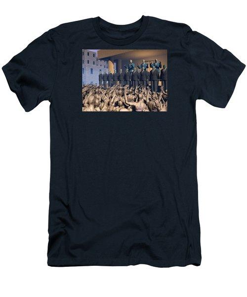 The Great Mud Revolt Men's T-Shirt (Athletic Fit)