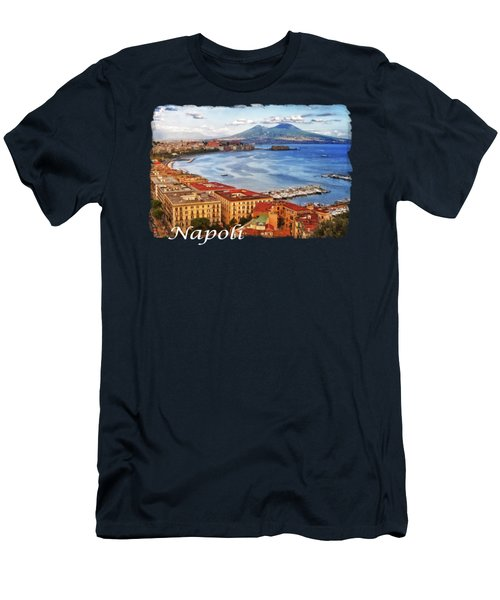 The Gulf Of Naples Men's T-Shirt (Athletic Fit)