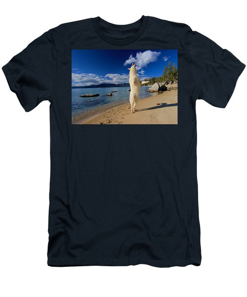 The Joy Of Being Well Loved Men's T-Shirt (Slim Fit) by Sean Sarsfield