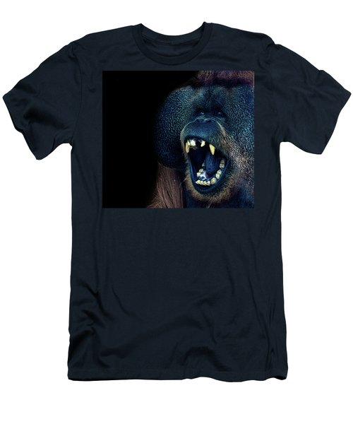 The Laughing Orangutan Men's T-Shirt (Slim Fit) by Martin Newman
