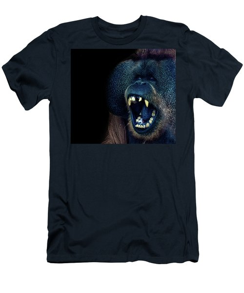 The Laughing Orangutan Men's T-Shirt (Athletic Fit)