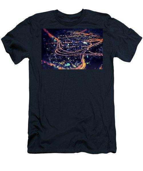 The Light Curves Men's T-Shirt (Athletic Fit)