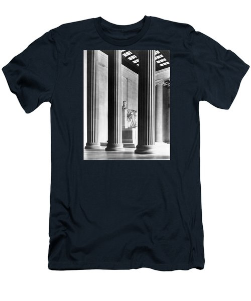 The Lincoln Memorial Men's T-Shirt (Slim Fit) by War Is Hell Store