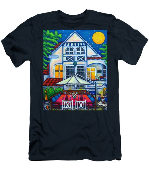 The Little Festive Danish House Men's T-Shirt (Athletic Fit)